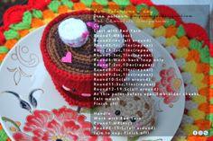 Amigurumi Food: Free pattern Hot Chocolate