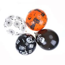 20PCS Party Supplies Fashion Pirate Skull Halloween Kids Toys Latex Balloons