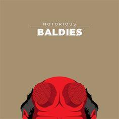 Área Visual - Blog de Arte y Diseño: Notorious Baldies. Ilustraciones de Mr. Peruca