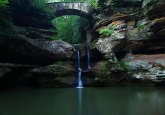 At Old Man's Cave, Logan, Ohio