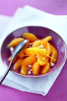 Salade d'oranges au Grand Marnier - Larousse Cuisine