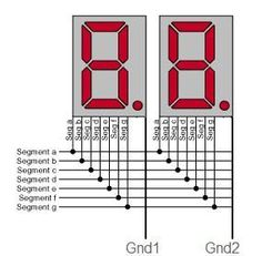 Simple Arduino 7 segment countdown timer