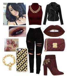 """""""who's gonna do it like me??!!!"""" by kayy-the-qveen ❤ liked on Polyvore featuring Aquazzura, WearAll, Miss Selfridge, House of Harlow 1960, Michael Kors, Love Moschino and Casetify"""