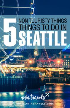 Seattle is known for the fish market and the needle but, I avoid the touristy things at all costs. Here are top 5 non touristy things to do in Seattle. | Things to do | not touristy | Washington | usa | Troll | chihuly