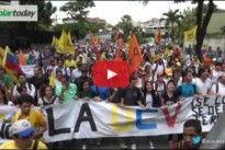 [VIDEOS] ¡ABAJO CADENAS! El bravo pueblo venezolano enfrenta sin miedo a las fuerzas opresoras de la Dictadura