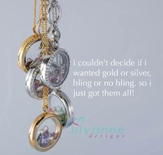 Available in gold or silver