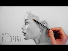 Girl Portrait Drawing in Pencil - YouTube