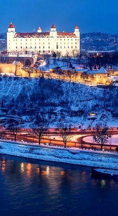 Bratislava Slovakia, Beautiful Castles, Daily Photo, Palaces, Czech Republic, Hungary, Winter Wonderland, Austria, Poland