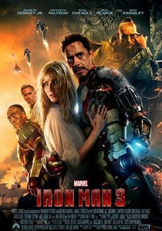 #Ironman #3 is a #Hot funny thriller with amazing special effects and Paul Bettany? spelling playing Tony's machine and he does such an amazing job helping Tony navigate disaster and destruction