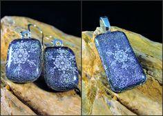 Snowflake Jewelry Set Snowflake Earrings Snowflake by bymisty