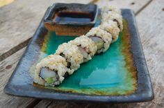 Recipe: Homemade Sushi (with brown rice) http://www.100daysofrealfood.com