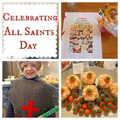 Inspiration for an All Saints Day party for kids. {Our Learning Home}