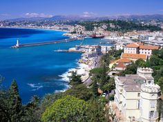 French Riviera.
