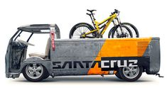 """$6000 doesn't come with that sick van. 29"""" Blurs from @Santa Cruz Bikes (the second best bike co. )"""