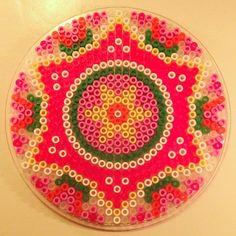 Kids Art/Craft - perler fuse hama bead mandala