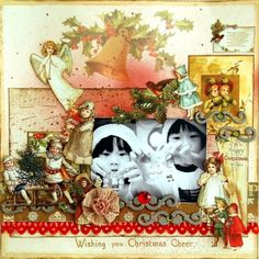 Scrapbook Blog | The Crop Spot | Wishing You Christmas Cheer by scrapperlicious