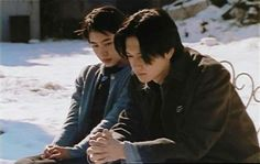 After Life  Japanese filmmaker Hirokazu Koreeda's notion of the afterlife as a bureaucracy was hardly original in 1998. Ferenc Molnár's play Liliom (and its several film versions) and Sutton Vane's play Outward Bound (and its film versions — not to mention Tim Burton's more fanciful Beetlejuice) all got there first. Koreeda's film, however, is a very different proposition, though one that bears similarities to its predecessor. Street Style Magazine, After Life, Film Aesthetic, Beetlejuice, The Duff, Tim Burton, Filmmaking, Cinema, Bears
