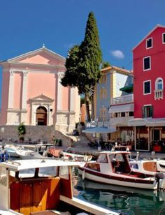 Charming port of Mali Losinj Island, Croatia