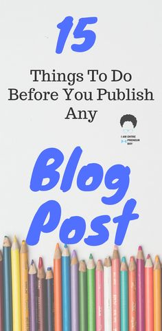 Getting traffic to your blog depends on the step you take. Before you publish any blog post, be sure that you've done everything possible to make it a hit. Learn how to do so by following these simple yet effective blogging steps.