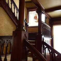 And Now, Interior Shots of the Crumbling Oscar Mayer Mansion -1901.