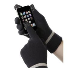 £15 Smartphone Isotoner Gloves. Use your smartphone in any weather with these handy gloves that have conductive material in the fingertips.