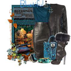 "Roberto Cavalli Contest: ""Bluetiful"", created by enjoyzworld on Polyvore"