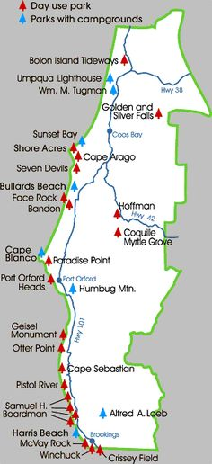 Southern OR Coast State Parks