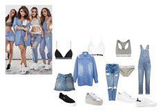 """little jeans mix"" by barbarasouzs ❤ liked on Polyvore featuring Current/Elliott, adidas Originals, Calvin Klein Underwear, Calvin Klein, Edit, Zimmermann, Maison Scotch, NIKE, Ash and Puma"