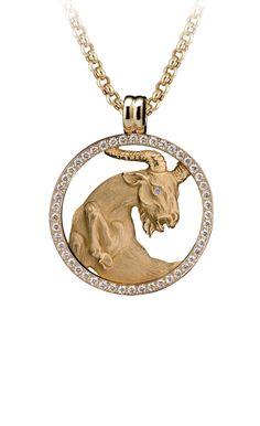 Magerit - Zodiac Collection: Necklace Big Capricornio