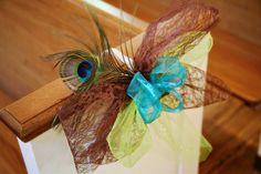 peacock, beach, wedding | peacock wedding ideas