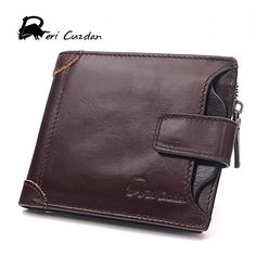 Check lastest price DERI CUZDAN Famous Brand Genuine Leather Men Wallets with Coin Zipper Pocket Male Purse Credit Card Holder Wallet Man Wallet Men just only $13.82 with free shipping worldwide  #walletsformen Plese click on picture to see our special price for you