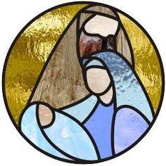 Easy nativity ornament - Click Image to Close