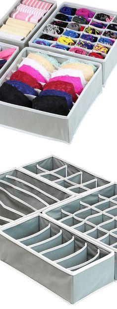 Closet Underwear Organizer Drawer | Easy Closet Organization Ideas for the Home