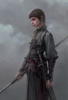 Ellie Nobel girl weak fighter trained under Steven to become one of the inquisition