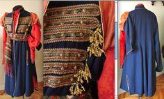 Контуш пошитий вручну за кроєм 17ст з вовняного сукна і декорований тасьмами і шнурами. Моя приватна власність
