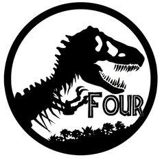 simple dinosaur silhouette - Google Search