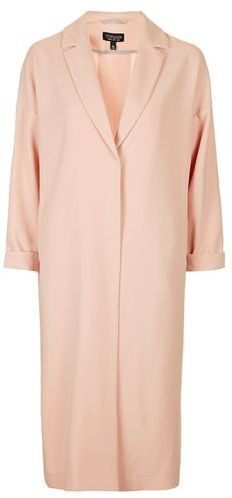 TopShop Textured Longline Duster Jacket