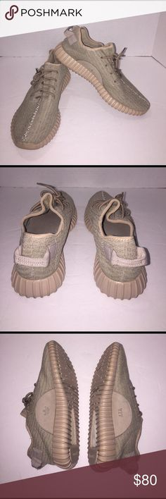 Adidas yeezy. Tan adidas yeezy boost men size 9.5. 🔴not authentic 🔴. Barely used. Close to the real deal. No box Adidas Shoes