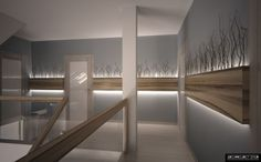 Desert of white sands contemporary hall