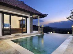 Villa for Rent Bali Mesh Pool Fence, Aluminum Pool Fence, Glass Pool Fencing, Above Ground Pool, In Ground Pools, Bali Luxury Villas, Jimbaran Bali, Fence Options, Types Of Fences