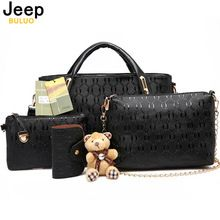 Like and Share if you want this  JEEP BULUO Famous Brand Women Bag 2016 Fashion Women Messenger Bags Handbags Leather Female Bag 4 piece Set AW342     Tag a friend who would love this!     FREE Shipping Worldwide     Buy one here---> http://fatekey.com/jeep-buluo-famous-brand-women-bag-2016-fashion-women-messenger-bags-handbags-leather-female-bag-4-piece-set-aw342/    #handbags #bags #wallet #designerbag #clutches #tote #bag