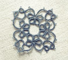 tatting with thinner thread by pixellent, via Flickr #tatting #tatted #tat #lace