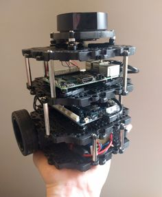 We take an in-depth look at the new TurtleBot 3 Burger and Waffle from Robotis Robot Operating System, Robot Videos, Robot Illustration, Robots, Palm, Hold On, Hardware, Canning, Robot