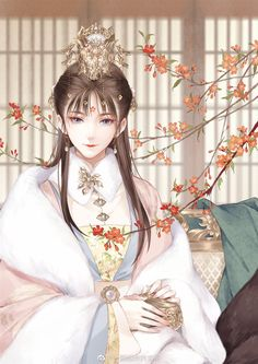 Pretty Anime Girl, Anime Art Girl, Anime Love, Fantasy Character Design, Character Art, Chinese Artwork, Anime Kimono, Beautiful Fantasy Art, Anime Princess