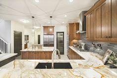 Elevation: Converge D - Craftsman Community: Sunset Ridge Address: 129 Sundown Grove Beautiful Kitchens, Craftsman, New Homes, House, Community, Sunset, Home Decor, Ideas, Homemade Home Decor