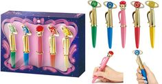 Sailor Moon Disguise & Transformation Wand Pen Set 2014 WAAAAAANNNNNTTTT!