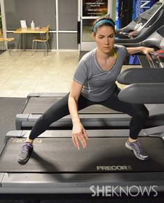 5 20-minute treadmill workouts - not just running; incorporates body weight exercises and weights!