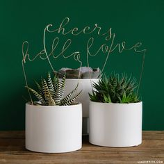 Learn how to create gorgeous words in a script font with copper wire lettering. Print our template and follow our instructions for DIY success!