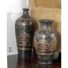 Uttermost Mela Tall Terra Cotta Vase