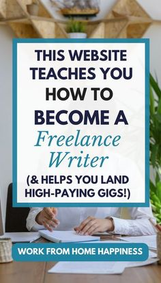 Do you dream of getting paid to write but have no writing experience? Check out this review! This website teaches you how to become a paid freelance writer (and helps you land high-paying gigs!). Get started today. #workathome #workfromhome #freelancewriter #getajob